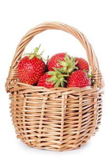 Free Fresh Strawberry On Basket Royalty Free Stock Photos - 20461788