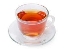 Free Glass Cup With A Camomile Tea Royalty Free Stock Photos - 20461828