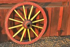 Free Antique Wagon Wheel Stock Photo - 20461990