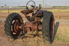 Antique Tractor Stock Photography