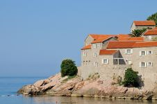 Free Island Sveti Stefan, Montenegro Royalty Free Stock Image - 20462616