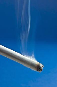 Burning Cigarette Stock Images