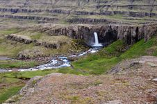 Free Waterfall On Northern Iceland Stock Photos - 20463133