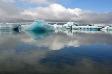 Free Jokulsarlon Is The Largest Glacier In Iceland Stock Photography - 20463142