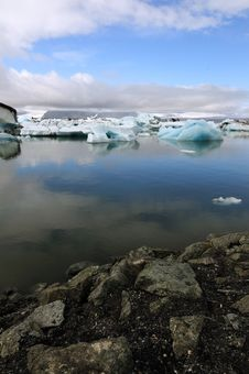 Free Jokulsarlon Is The Largest Glacier In Iceland Stock Images - 20463144