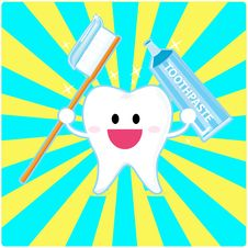 Free Smiley Tooth Royalty Free Stock Photos - 20463278