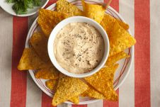 Free Red Pepper Houmous Royalty Free Stock Photos - 20463288
