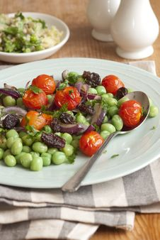 Free Bean And Tomato Salad Stock Photos - 20463553