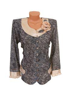 Stylish Gray Coat. Royalty Free Stock Photo
