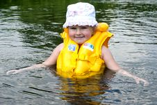 Free The Child Studies To Float Stock Image - 20464891