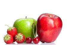 Free Summer Fresh Fruits Isolated Stock Photo - 20465280