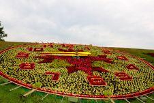 Free Flower Clock Stock Photos - 20465433