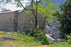 Free Ruins Of Saint Nicholas Monastery Royalty Free Stock Photos - 20466338