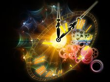 Fractal Time Royalty Free Stock Photo