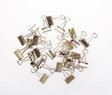 Free Binder Clips Royalty Free Stock Images - 20467079