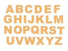 Free Fruit Alphabet Royalty Free Stock Image - 20468406