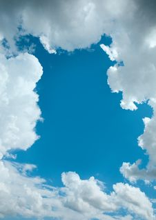 Free Cloud Background Royalty Free Stock Photo - 20468445