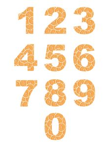 Free Fruit Numbers Stock Photo - 20468460