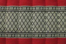 Free Thai Weaver Frabic Pillow Royalty Free Stock Image - 20468616