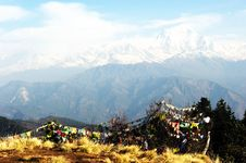 Free Poon Hill, Nepal Stock Images - 20468874