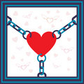 Free Chained Heart Stock Photo - 20472170