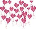 Free Balloon Heart Stock Photo - 20475320