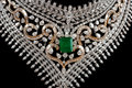 Free Close Up Of Diamond Necklace Royalty Free Stock Image - 20475596