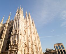 Free Milan Cathedral Royalty Free Stock Images - 20470199