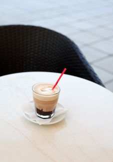 Free Cappuccino On Table Royalty Free Stock Image - 20470466
