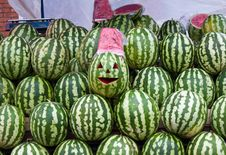 Free Sale Of Water-melons Stock Images - 20470744