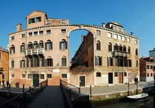 Free Old House - Panorama ,Venice,Italy Royalty Free Stock Images - 20471139