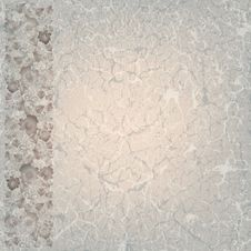Free Abstract Grunge Background With Floral Ornament Royalty Free Stock Photos - 20471388