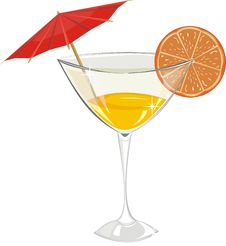 Free Cocktail With Orange Stock Photos - 20472003