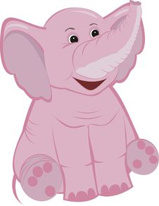 Free Pink Elephant Royalty Free Stock Photo - 20472005