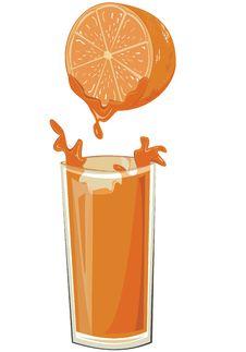 Free Orange Juice Royalty Free Stock Photos - 20472008