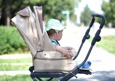 Free Baby In Sitting Stroller Stock Photo - 20472040