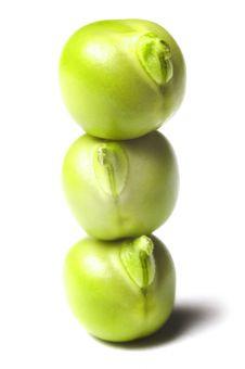 Free Green Peas  Isolated On White Stock Photo - 20473970