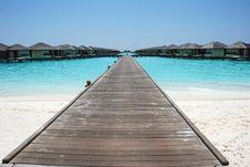 Free Walking On The Sea Royalty Free Stock Photo - 20474255