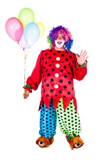 Free Holiday Clown Stock Photography - 20474442