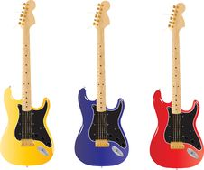 Free Illustration Guitar Stock Photo - 20474850