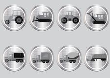 Free Icons In The Form Of Buttons Stock Photos - 20474883