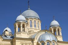 Orthodox Christian Temple Royalty Free Stock Image