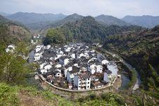 Free Wuyuan, China: Jujing Village Stock Photos - 20475553
