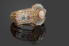 Diamond Bracelet Stock Photos