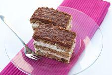 Free Hazelnut Cake Royalty Free Stock Photography - 20475717