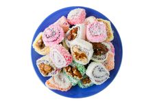 Free Sweets On Dish Stock Photos - 20475833