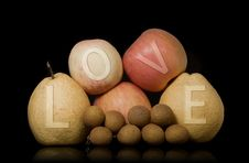 Free Love The Fruit Group Royalty Free Stock Photo - 20475975