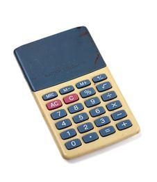 Free Basic Calculator Royalty Free Stock Photos - 20476288