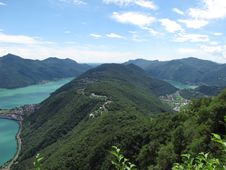 Free Lugano - Switzerland Royalty Free Stock Photos - 20476418