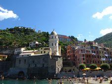 Free Vernazza Church - Italy Royalty Free Stock Photo - 20476735